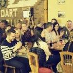 spoločenské akcie v pivárni garžoľ
