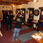 šípkarska miestnosť v pivárni garžoľ